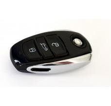 VW-Touareg II 7P Smartkey-Schlüssel-Gehäuse-3-Tasten