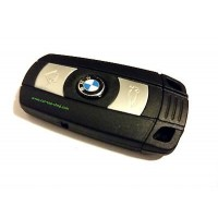 Smartkey 3-button key housing, BMW E_ also keyless
