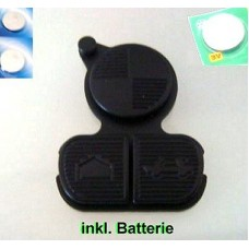 3-buttons rubber repair kit keypad BMW key