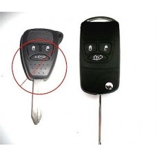 Chrysler Jeep Dodge key conversation kit to flip key (straight)