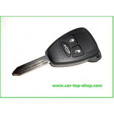 3-button key housing/blade (g) Chrysler Jeep Dodge