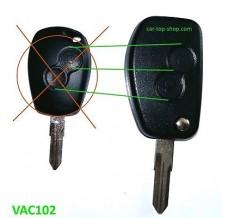 Renault Dacia conversation kit to flip key 2-buttons VAC102 blade