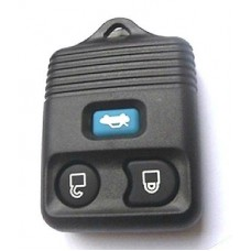 Key housing for Ford 3-button remote control