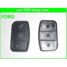 3-button rubber Key-Pad for Ford flip key