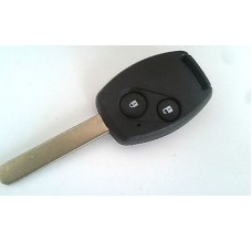 2-button key housing +blade Honda without extra transponder place