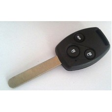 3-button key housing/key blank for Honda with transpnoder place