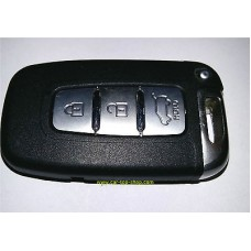Smartkey key housing 3-buttons for Hyundai