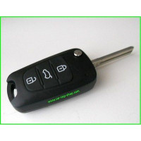 Flip key housing with 3-buttons for Hyundai