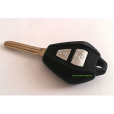 2-buttons key housing and key blank for Isuzu