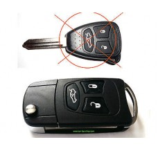 Conversation kit to flip key Jeep Dodge Chrysler keys (type R)