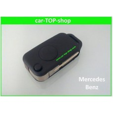 Flip key 1-button IR housing for Mercedes Benz