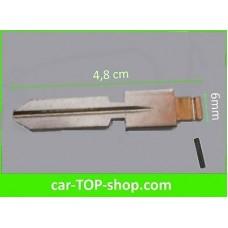 Key blade wide type W for Mercedes Benz flip key