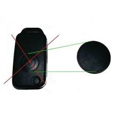 2pcs replacement button for Mercedes 1-button flip key