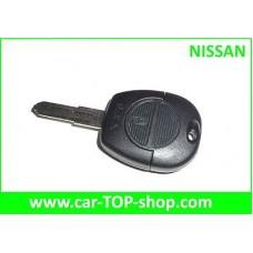 Nissan key housing  2-buttons  NSN11 blade