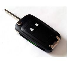 2-button flip key housing Opel/Vauxhall Typ J