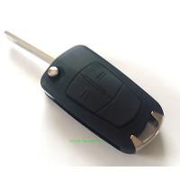 Opel 2-button flip key housing type H