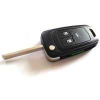 3-button flip key housing for Opel Typ J