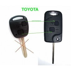 Conversation kit to flip key 2-buttons for Toyota