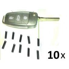 10x Hohlsplint Stift Spannstift Splint für Schlüsselbart