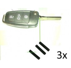 3pcs splint pin/span pen to fix the key blade to the flip key s