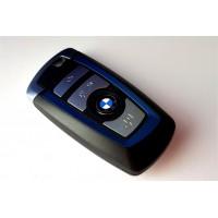 4-button key housing BMW F Series smart key BLUE