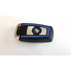 3-button key housing for BMW F series smart key BLUE