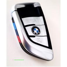 Smartkey key housing 3 buttons BMW X5 F15 X6 F16 G30 G11 Chrom M
