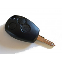 3-buttons key housing with key blank NE73 for Renault Dacia