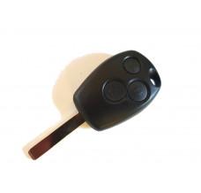 3-button key housing key blank HU2 for Renault Dacia