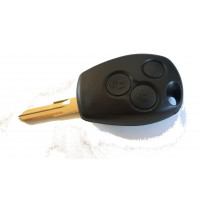 3-buttons key housing with key blank VAC102 Renault Dacia