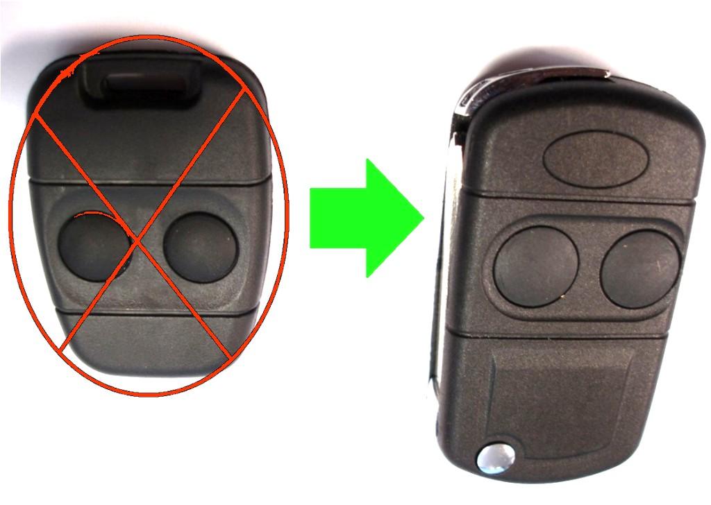 Umbausatz auf Klappschlüssel - Land Rover